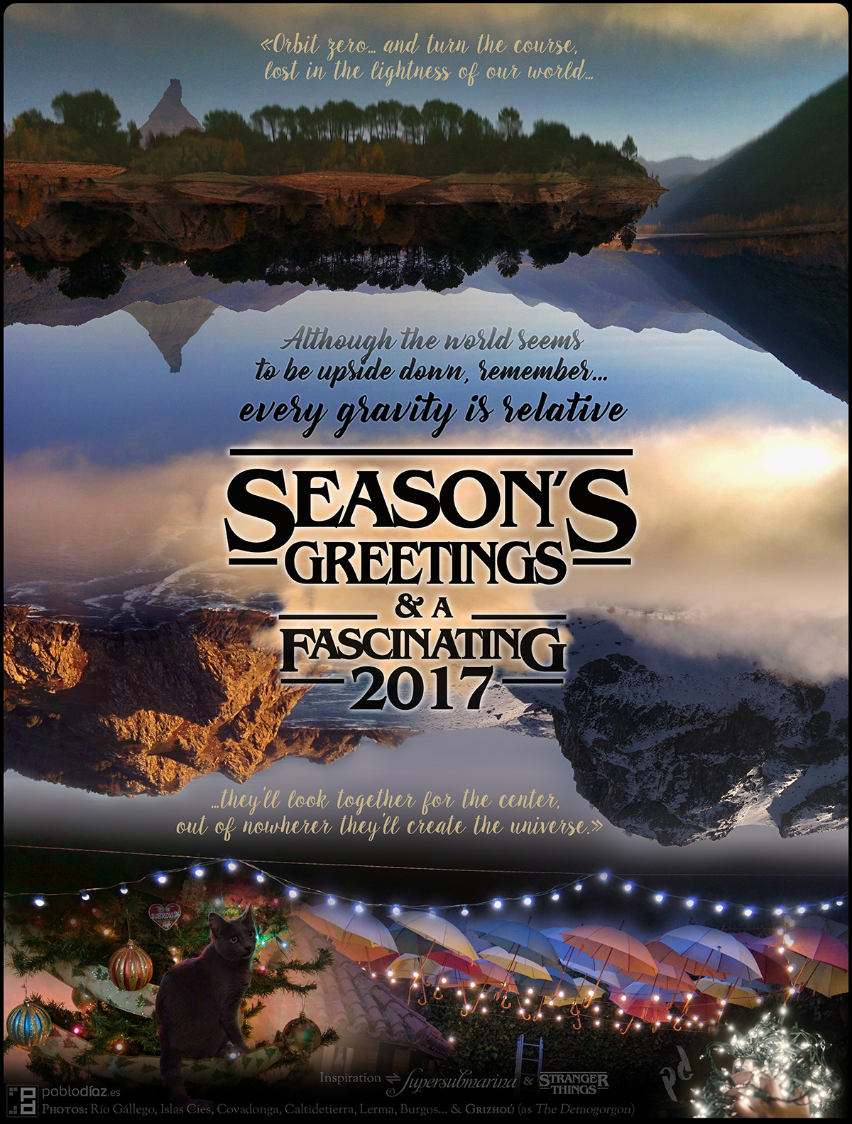 Season's Greetings and a fascinating 2017 - pablodíaz.es