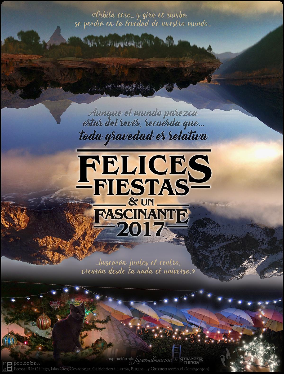 Felices Fiestas y un Fascinante 2017 - pablodíaz.es